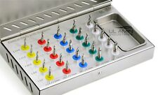 Conical Drills Kit 25pcs Set with stoppers Dental Implant Guided Surgery CE