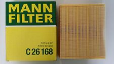 VW PASSAT ENGINE AIR FILTER MANN HUMMEL 058133843/C26168 - BRAND NEW