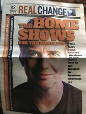 REAL CHANGE NEWSPAPER STONE GOSSARD PEARL JAM SEATTLE 2018 THE HOME SHOWS