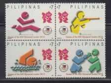 Philippine Stamps 2012 London Olympics Complete set MNH