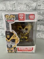 Transformers Bumblebee 102 Funko Pop Vinyl Vaulted