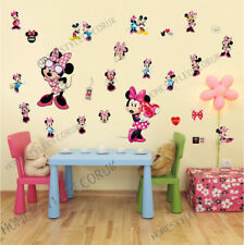 25PCS Minnie Mouse Disney Wall Decals Sticker Vinyl Kids Room Hot Room Decor