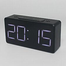 Digital Electric Clocks Student Alarm Clock Mirror Alarm Clock Black Color