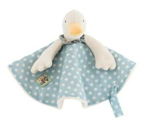 Moulin Roty Jeanne the Goose (Jeanne La Cane) Baby Soft Toy Plush Comforter 20cm