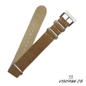Hand-made calfskin leather Watch strap for Vintage ROLEX Watches