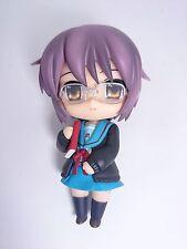 "Haruhi Suzumiya Yuki Nagato 4"" Figure Nendoroid Authentic GoodSmile Japan k17162"