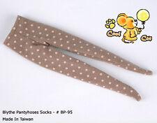 ☆╮Cool Cat╭☆【BP-95】Blythe Pantyhose Doll Socks # Field Drab+Pink Dot