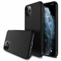 Für iPhone 11 | Pro | Max CARBON CASE Hülle Design Fiber Backcover Tasche Cover