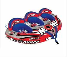 WOW  WILD BUNCH  Inflatable Tube Towable Biscuit Water Toy