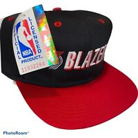 Vintage Portland Trail Blazers Snapback Hat Logo 7 NEW WITH TAGS