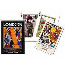 London Transport Advertising set of 52 playing cards + jokers (bpc)