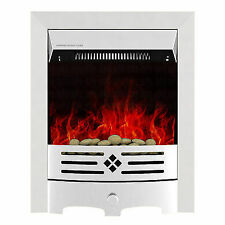 Modern LED Flame 2kw Electric Fireplace Freestand Insert Heater Fire Place Stove