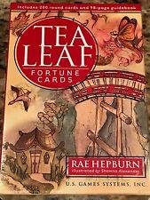 Tea Leaf Fortune Cards, Book and Drawstring Bag set NEW Sealed
