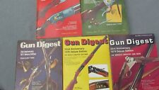 "Gun Digest The Shooters Encyclopedia Five (5) Books ""75""76""77& #034;78""79"
