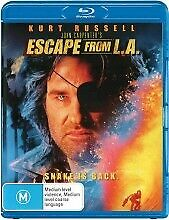 Escape From L.A. (Blu-ray, 2014) - KURT RUSSELL - Brand New / Sealed