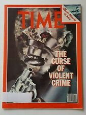 Time Magazine March 23 1981 The Curse Of Violent Crime - English