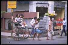 metal sign 512053 rickshaw driver on a street in calcutta india a4 12x8 aluminiu