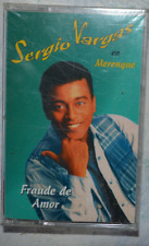 Sergio Vargas en Merengue - Fraude de Amor - Cassette - New! Sealed! 1995