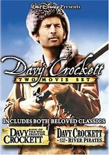 Davy Crockett - 2 Movie DIsney DVD (King Of The Wild Frontier / River Pirates)