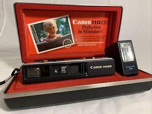 Canon 110 ED w/ Flash and Canon Hard Case