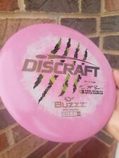 First Run Buzzz Esp 4x Paul Mcbeth Discraft Disc Golf