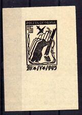 """POLOGNE Oflag Camp de Murnau Bloc """"D"""" Fischer timbre n° 4 neuf sans gomme epreuv"""