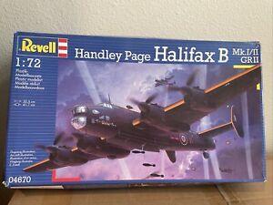 Revell (Germany) Handley Page Halifax B Mk.I/II GR II 1/72 Model Kit
