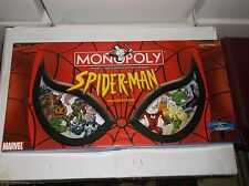 SPIDERMAN--MONOPOLY BOARD GAME COLLECTOR'S EDITION