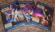 STAR WARS DVD Trilogy New Sealed Full Screen Theatrical IV V VI HAN SHOOTS FIRST
