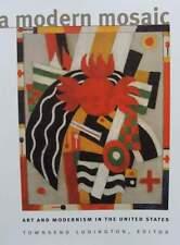 A Modern Mosaic - Art and Modernism in the United States livre,book,buch,boek,li