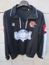 VINTAGE Sweat du maillot porté LAVAL Stade Lavallois LOTTO Lactel XL