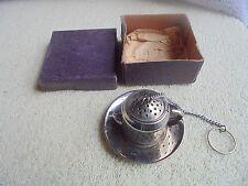 Vtg Estate Box Miniature Tea Kettle Japan Tea Steeper Infusion Set Nice Lot