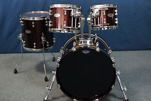 """Pearl Reference Pure Shellset in """"Black Cherry"""" - 20,10,12,14"""" - RFP904/C335"""