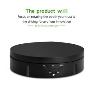 360 Degree Electric Rotating Turntable Display Stand for Photography Video Tools