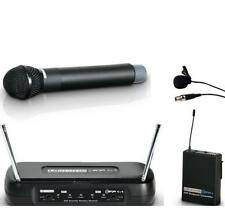 LD Systems DUAL Wireless Microphone System 1 x Handheld and 1 x Lapel Microphone