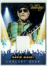 The Beach Boys 50th Anniversary Concert Gear Memorabilia Card #15 David Marks (a