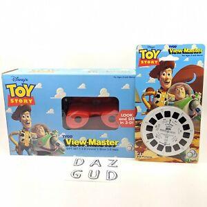 VTG Disney Toy Story Movie 3D View Master w Extra Reels Rare Brand New Tyco 1995