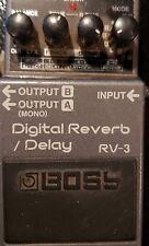 Boss RV-3 Digial Reverb/Delay Guitar Effect Pedal