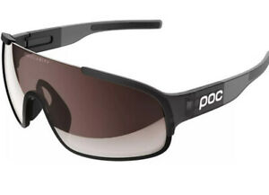 POC Crave Cycling Glasses In Uranium Black/Gray NWB
