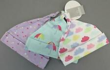 The Childrens Place Girl's Rainbow Cloud Hat 3-Pack Gs2 Multicolor Size 0-6M Nwt