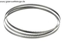 Metal sierra de cinta hoja 2450 x 27 x 0,9 mm zahnung 8/12 m42 duoflex para acero & ne