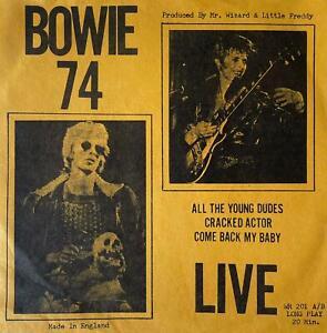 """David Bowie - Bowie 74 Live EP (7"""") (VG/EX-)"""