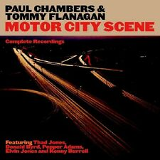 Tommy Flanagan, Paul Chambers & Tommy Flanagan - Motor City Scene [New CD]