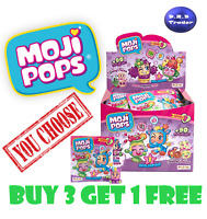 MOJI POPS *BUY 3 GET 1 FREE* INC ULTRA RARE GLITTER & STORY - CHOOSE YOUR OWN