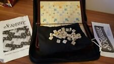 Scrabble Game Folio Edition Travel Portable Case Crossword