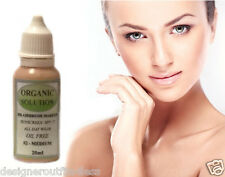 AIR BRUSH SPRAY ON MAKEUP AIRBRUSH LIQUID FOUNDATION NY LUMiNESS SKIN ORGANIC 1