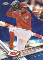 RAISEL IGLESIAS 2017 TOPPS CHROME SAPPHIRE EDITION #185 ONLY 250 MADE