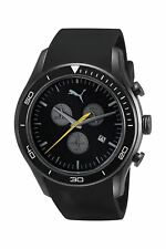 Puma Men's Watch Stainless Steel Black Chronograph Date Analogue PU102651003