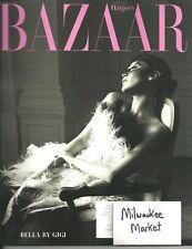 Harper's Bazaar June July 2018 Gig Hadid Bella Free & Fast SnH Best Deal L@@K !!
