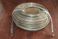 Plastic Coated Stainless Wire Rope 33 Metres Long